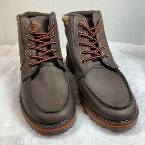 NWOTColumbia Youth Lewis Ridge Leather Hiking Boot